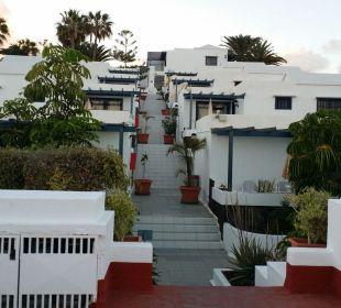 Treppen  Bungalows & Appartements Playamar