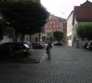 Hotel von der Altsstadt aus Hotel Lindauer Hof