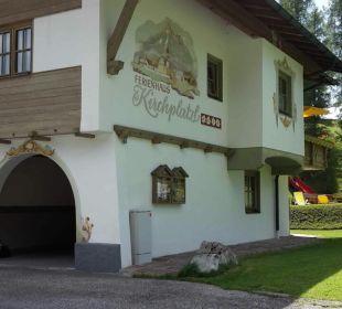 Außenansicht Ferienhaus Kirchplatzl