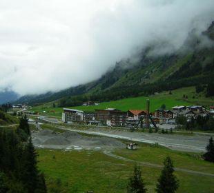 So sieht es mit Nebel aus Hotel Gundolf