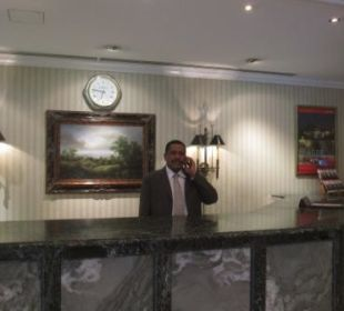The friendly Front Office Manager Mr. Kamal Bakhit Ramada Hotel & Suites Al Khobar