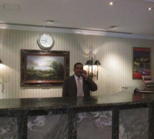 The friendly Front Office Manager Mr. Kamal Bakhit Ramada Hotel & Suites Al Khobar