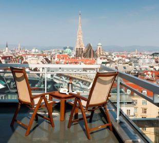 Hoch über den Dächern von Wien Hotel Am Parkring
