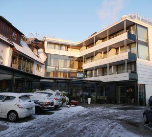 Hotel von außen Seehotel Adler