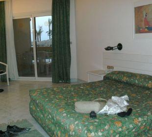 Unser Zimmer bei der Ankunft