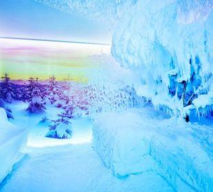 Erste Schneesauna im Alpenraum Hotel Quelle Nature Spa Resort