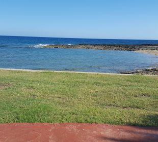 Blick über die liegewiese zum Meer Oz Hotels Incekum Beach
