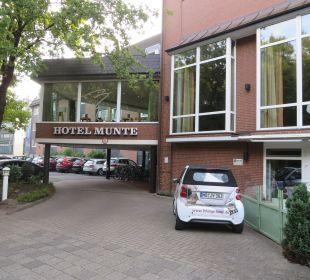 Außenansicht Hotel Munte am Stadtwald - Ringhotel