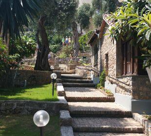 Gartenanlage Hotel Grecotel Eva Palace