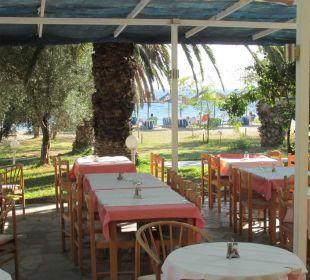 Frühstück mit Meerblick Hotel Possidona Beach