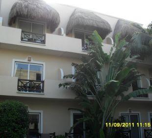 Außenansicht Hotel Posada Riviera del Sol