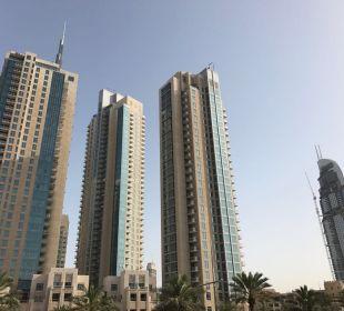 Ausblick Vida Hotel Downtown Dubai