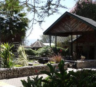 Eingang zur Lodge Hotel Lake Nakuru Lodge