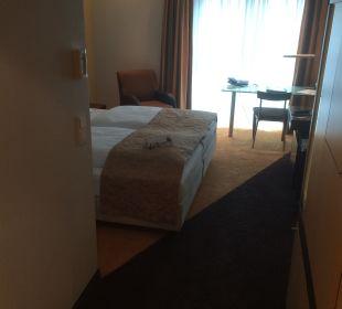 Zimmereinblick Hotel Dorint an der Messe Köln