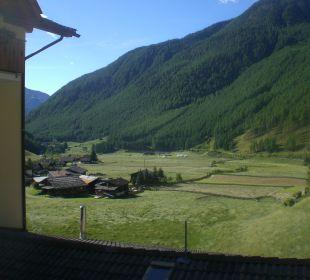 Ausblick von unserem Terrassenzimmer Tonzhaus Hotel & Restaurant