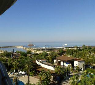 Balkonblick Richtung Meer Sunis Hotel Evren Beach Resort & Spa