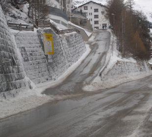 Zufahrt zum Hotel Hotel Bellevue & Austria