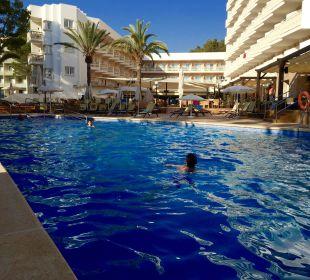 ..sehr sauberer Hotelpool Universal Hotel Lido Park