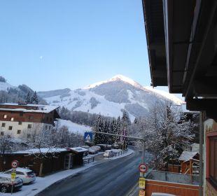 Ausblick vom Balkon auf den Zwölferkogel Talheimer Grias di & Hoamat