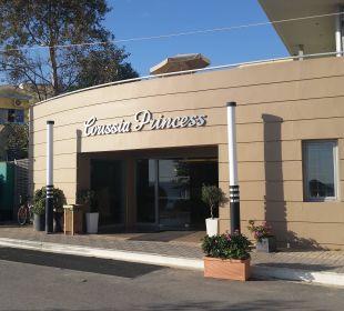 Haupteingang Hotel Corissia Princess