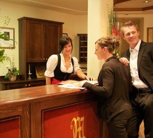 Rezeption Sportiv-Hotel Mittagskogel