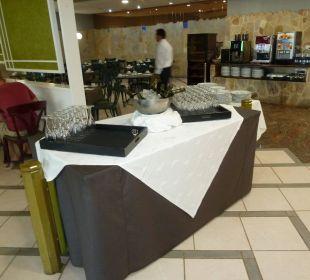 Frühstück mit Sekt Dunas Suites&Villas Resort