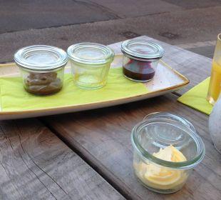 Marmelade bei Frühstück Hotel FIVE