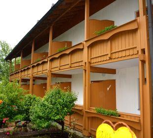 Die Balkone Sonnenhotel Eichenbühl