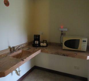Küchenbereich Hotel Montana de Fuego