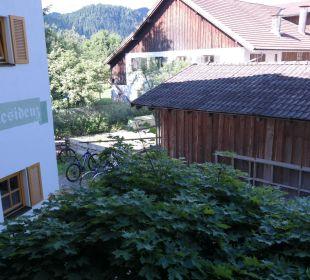 Blick vom Balkon nach Westen Hotel Das Rübezahl