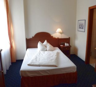 Einzelzimmer Kategorie 2 Hotel Angerbräu