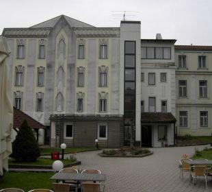 Hofansicht Wohlfühlhotel Liebnitzmühle