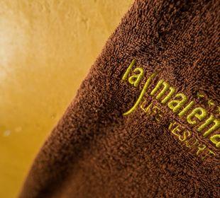 Kuscheliger Bademantel Hotel La Maiena Meran Resort