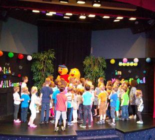 Gelungene Welcomeshow mit Animateur Serdar Kinderhotel Oberjoch