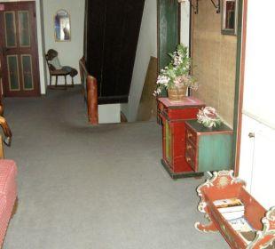 Flur im Altbau Hotel Emer Hof