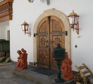 Hauseingang Hotel Sunneschlössli