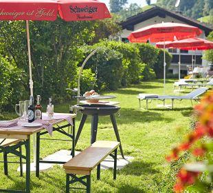 Grillplatz Schwandenhof Ferienwohnungen