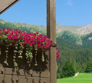 Blick vom Balkon Gasthof zum Hirschen