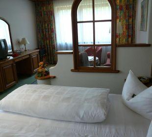 Doppelzimmer zur Murgseite Hotel Müllers Löwen