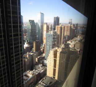 Blick von unserem Hotelzimmer