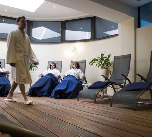 Ruheraum Wellnessbereich Hotel Elbschlösschen