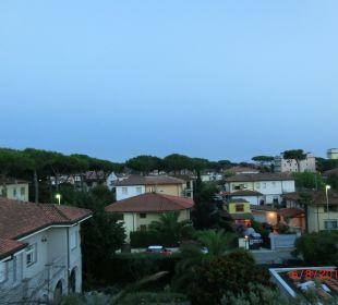 Hotelausblick zum Meer Hotel Fortunella