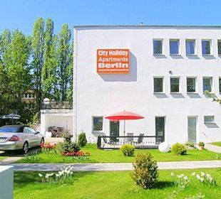 Aussenaufnahme City Holiday Apartments Berlin