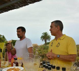 Weinprobe-Bananenwein-lecker Hotel Riu Garoe