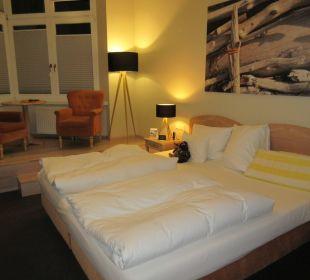 Grosses Zimmer mit Empore Upstalsboom Hotel Ostseestrand