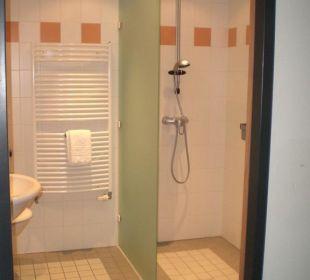 Dusche und WC Hotel am Froschbächel