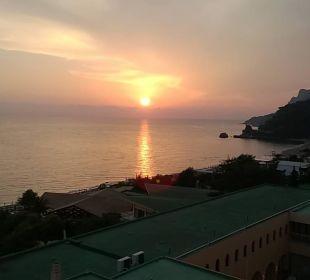 Sonnenuntergang lti Grand Hotel Glyfada
