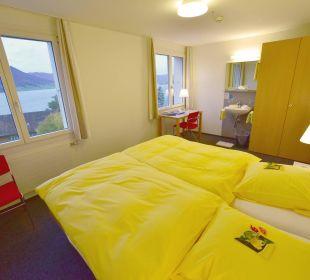 Zimmer ohne WC/Dusche im Tanneck Hotel Zentrum Ländli