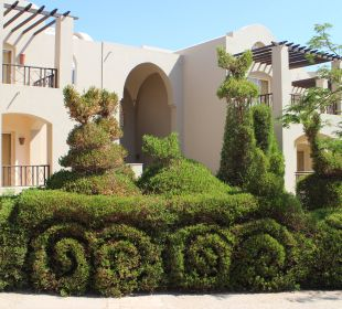 Gepflegte Gartenanlage Hotel Iberotel Makadi Beach
