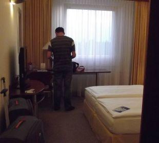 Genügend Platz Globana Airport Hotel